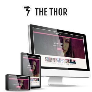 WordPressテーマ THE THORの宣伝画像