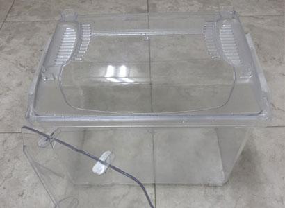 クリーンケース S 仕切り板付き(業務用 クリアー色)の写真